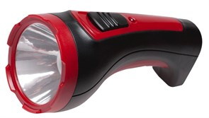(1010632) Фонарь Космос Accu101WLED (ручной, аккумуляторный, светодиодный, 1*1WLED, 2 режима, аккумулятор 4V 500mah, зарядка от 220V)