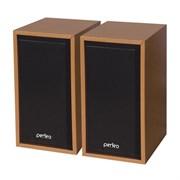 """(1009277) Perfeo колонки """"Cabinet"""" 2.0, мощность 2х3 Вт (RMS), бук дерево, USB (PF-84-WD)"""