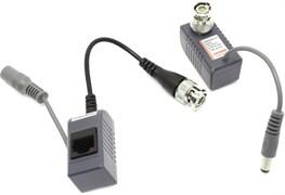 (1009493)  Одноканальное устройство для приема/передачи видеосигнала по витой паре Orient NT-621, RJ45, макс.дистанция 400м для цветного, 600м для ч/б сигнала, 100м для питания
