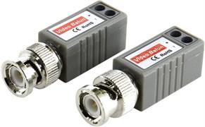 (1009492)  Одноканальное устройство для приема/передачи видеосигнала по витой паре Orient NT-602, винтовые разъемы, макс.дистанция 400м для цветного, 600м для ч/б сигнала