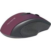 (199305) Мышь беспроводная Defender Accura MM-665, 800-1200 dpi, красная (52668)