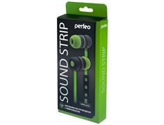 (1009587) Гарнитура Bluetooth Perfeo Sound Strip, зеленая/черная (PF-BTS-GRN/BLK)