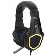 (1009597) Наушники с микрофоном Oklick Guardian HS-L310G черный 1.5м мониторы (LPS-1530)