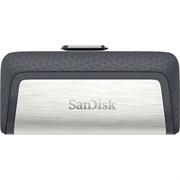 (1009720) Флеш Диск Sandisk 64Gb Ultra Dual SDDDC2-064G-G46 USB3.0 серый/узор