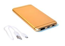 (1008831) Универсальная батарея KS-is (KS-305Gold) 7000мАч для портативной цифровой техники золотистая