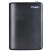 (1008918) Мобильный аккумулятор Buro RA-25000 Li-Ion 25000mAh 2.1A+1A черный/темно-серый 2xUSB