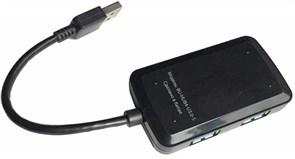 (1008911) Разветвитель USB 3.0 Buro BU-HUB4-U3.0-S 4порт. черный