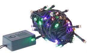 (1008936) Светодиодная гирлянда Космос GIR30LEDMIX1 30 RGB светодиодов, 8 режимов мигания, 4.4м