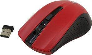 (1009143) Мышь беспроводная Defender Accura MM-935, 800-1600 dpi, красная  (52937)