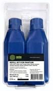 (1009214) Тонер Cactus refill kit: 2 chips+2 bottles CS-PX110 черный флакон для принтера Pantum P1000/ 1050/ 2000/ 2010/2050/ 5000/5005/ 6000/6005