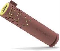 (1009224) Зарядное устройство CROWN CMPB-6200 Chocolate&Yellow (power bank, 2600mАh, 1А )