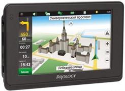 """(1009282) Навигатор Автомобильный GPS Prology iMAP-4500 4.3"""" 480x272 4Gb SD черный Navitel"""