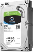 "(1008634) Жесткий диск Seagate Original SATA-III 2Tb ST2000VX008 Skyhawk 64Mb 3.5"""