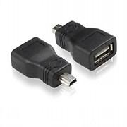 (1007798) Переходник 5bites UA-AF-MIN5 USB2.0, AF/MIN 5pin