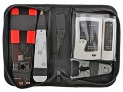 (1007784) Набор инструментов 5bites TK030, клещи LY-T210C 8p8c, LY-T2020 Krone, нож LY-501C, тестер кабеля LY-CT005