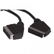 (1007859) Кабель аудио-видео Buro SCART (m)/SCART (m) 2м. черный (BSC001-B-2)