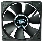 (1007897) Вентилятор DEEPCOOL Xfan120 120x120x25мм (пит. от мат.платы и БП, черный, 1300об/мин)  Retail blister