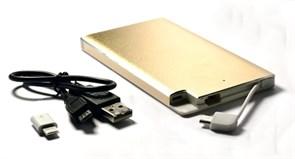 (1007094) Универсальная батарея KS-is (KS-277Gold) 6000мАч для портативной цифровой техники золотистая
