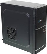 (1007128) Корпус Accord ACC-B301 черный без БП ATX 3x120mm 2xUSB2.0 2xUSB3.0 audio