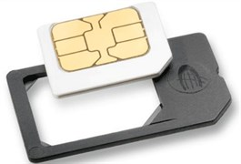 (1007416) Адаптер microSim в упаковке