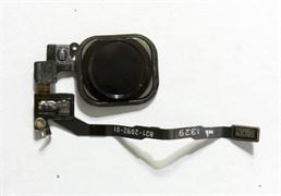 (1007548) Кнопка HOME в сборе с механизмом и шлейфом NT для Apple iPhone 5S черная