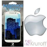 (1007578) Стекло защитное Krutoff Group 0.26mm для iPhone 4/4S