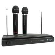 (188346)  Набор беспроводных микрофонов Defender MIC-155, черный