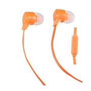 (1007682) Perfeo наушники внутриканальные c микрофоном HANDY оранжевые PF-HND-ORG