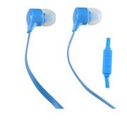 (1007684) Perfeo наушники внутриканальные c микрофоном HANDY голубые PF-HND-AZR