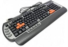 (1006207) Клавиатура A4 G800V черный USB Multimedia Gamer