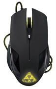 (1006353) Мышь Oklick 765G черный оптическая (1600dpi) USB игровая (6but)