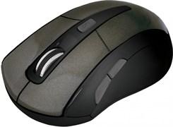 (193326) Беспроводная оптическая мышь Defender Accura MM-965 серо-коричневая (2.4 ГГц, 6 кнопок,1600 dpi, 2 х АAA)