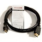 (166110)  Кабель HDMI (M) -> mini HDMI (M),  1.0m, TV-COM (CG580M-1M)
