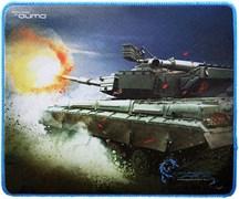 (1008566)  Коврик для мыши QUMO Dragon War Tank, 280x230x3