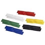 (1004284) Стяжки-липучки Hama H-83157 Hook&Loop Duo 100 мм 12 шт разноцветные