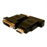 (64033) Переходник HDMI19(M) - DVI25(F)