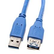 (117868)  Кабель удлинительный USB 3.0 (AM) -> USB3.0 (AF), 1.0m, 5bites (UC3011-010F)