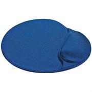 (115398) Коврик для компьютерной мыши Defender Easy Work синий, лайкра, 260х225х5 мм