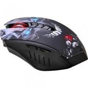 (1002220) Мышь A4 Bloody R8 metal feet Skull design черный Беспроводная (3200dpi) USB игровая