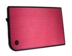 "(120239)  Мобильный корпус для HDD 2.5"" AgeStar 3UB2A14, USB3.0, алюминий, Red"
