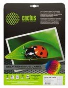 (1001860) Этикетки Cactus white А4 105x148.5мм 50 sheets