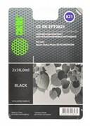 (1001543) Заправка для перезаправляемых картриджей CACTUS CS-RK-EPT0821 для Epson Photo R270, черная, 2x30мл