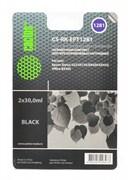 (1001545) Заправка для перезаправляемых картриджей CACTUS CS-RK-EPT1281 для Epson Stylus S22, черная, 2x30мл