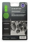 (1001547) Заправка для перезаправляемых картриджей CACTUS CS-RK-EPT1291 для Epson Stylus  B42, черная, 2x30мл