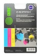 (1001542) Заправка для перезаправляемых картриджей CACTUS CS-RK-EPT0732-4 для Epson Stylus С79, цветная, 3х30