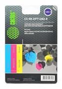 (1001546) Заправка для перезаправляемых картриджей CACTUS CS-RK-EPT1282-4 для Epson Stylus S22, цветная, 3x30