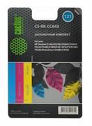 (1004535) Заправочный набор Cactus CS-RK-CC643 многоцветный 90мл для HP DJ D1663/D2563/PS C4683/C4783