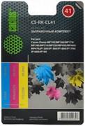 (1004537) Заправочный набор Cactus CS-RK-CL41 цветной (3x30мл) Canon MP150/MP160/MP170/MP180/MP210