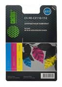 (1004539) Заправочный набор Cactus CS-RK-CZ110-112 цветной (3x30мл) HP DJ IA 3525/5525/4515/4525